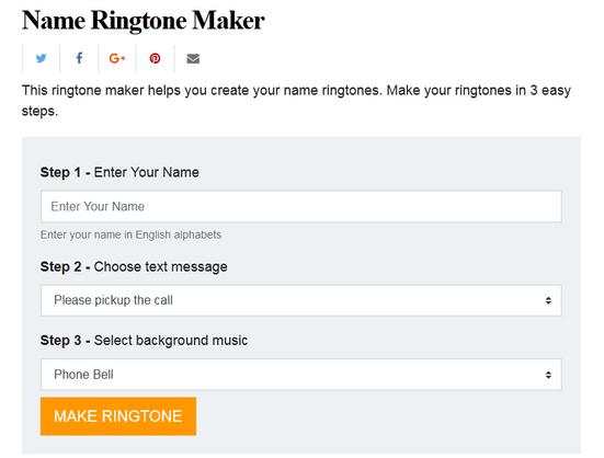 अपने नाम की Ringtones कैसे बनाते हैं