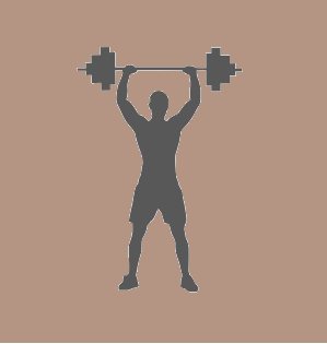 Barbell Standing Press Exercise