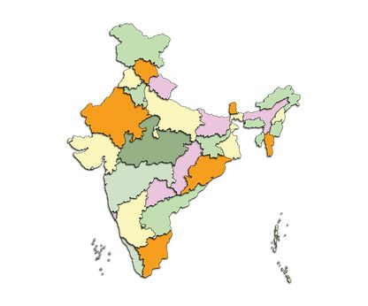 How Many States Are There In India In Hindi